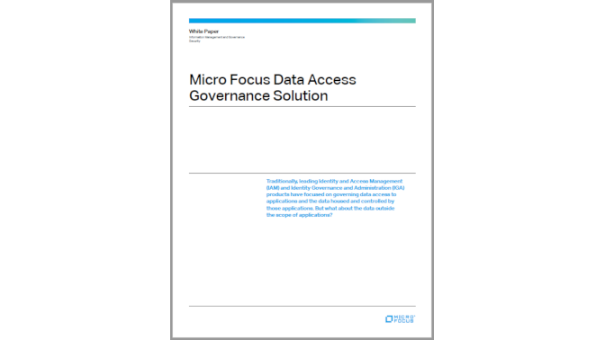 Micro Focus Data Access